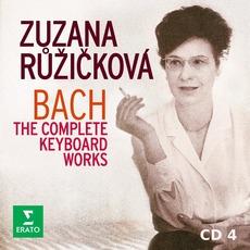 Zuzana Růžičková: Bach - The Complete Keyboard Works, CD4 by Johann Sebastian Bach