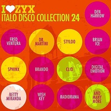 I Love ZYX Italo Disco Collection 24 mp3 Compilation by Various Artists
