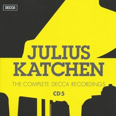 Julius Katchen: The Complete Decca Recordings, CD5 mp3 Artist Compilation by Ludwig Van Beethoven