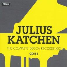Julius Katchen: The Complete Decca Recordings, CD21 mp3 Artist Compilation by Johannes Brahms