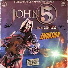 Invasion mp3 Album by John 5 and The Creatures
