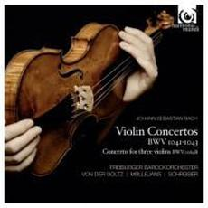 Violin Concertos BWV 1041-1043 mp3 Album by Johann Sebastian Bach