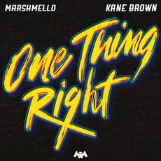 One Thing Right mp3 Single by Marshmello