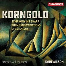 Symphony in F-sharp / Theme and Variations / Straussiana mp3 Album by Erich Wolfgang Korngold