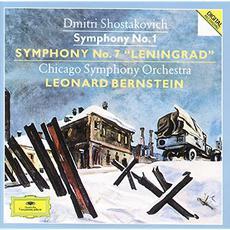 "Symphony no. 1 / Symphony no. 7 ""Leningrad"" mp3 Album by Dmitri Shostakovich"