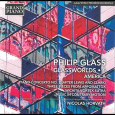 Glassworlds 6: America mp3 Album by Philip Glass; Nicolas Horvath