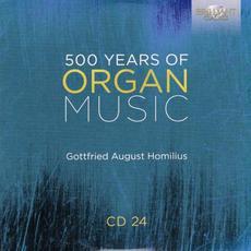 500 Years of Organ Music, CD 24 mp3 Artist Compilation by Felix Marangoni