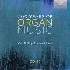 500 Years of Organ Music, CD 25 mp3 Artist Compilation by Luca Scandali