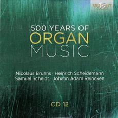 500 Years of Organ Music, CD 12 mp3 Artist Compilation by Simone Stella