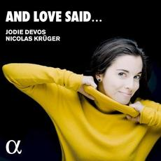 And Love Said... mp3 Album by Jodie Devos