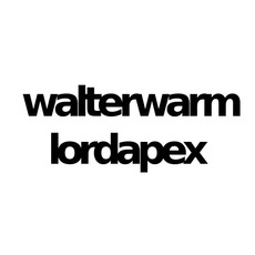 walterwarm & lordapex