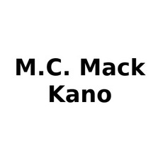 M.C. Mack & Kano Discography